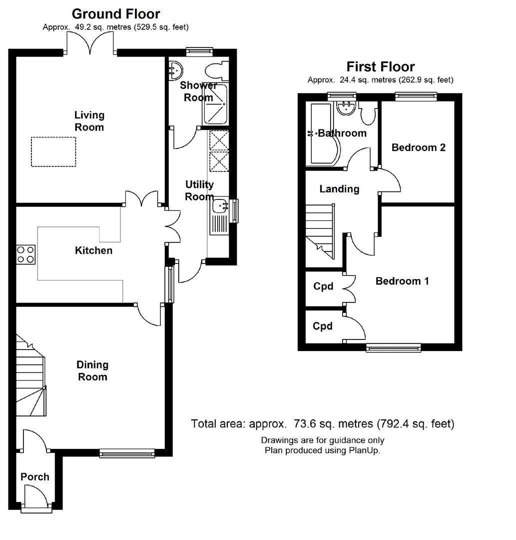 Floor plan 55 FairhavenLodeCambs